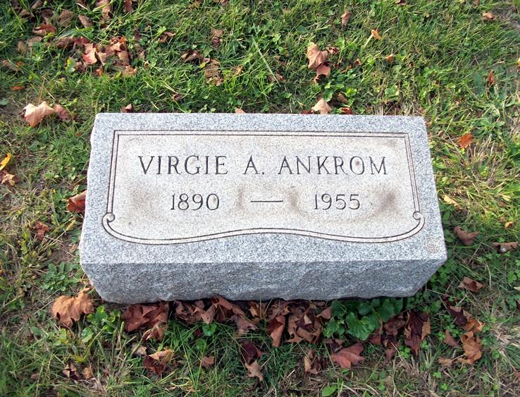 Virgie Amelia <i>Mayfield</i> Ankrom