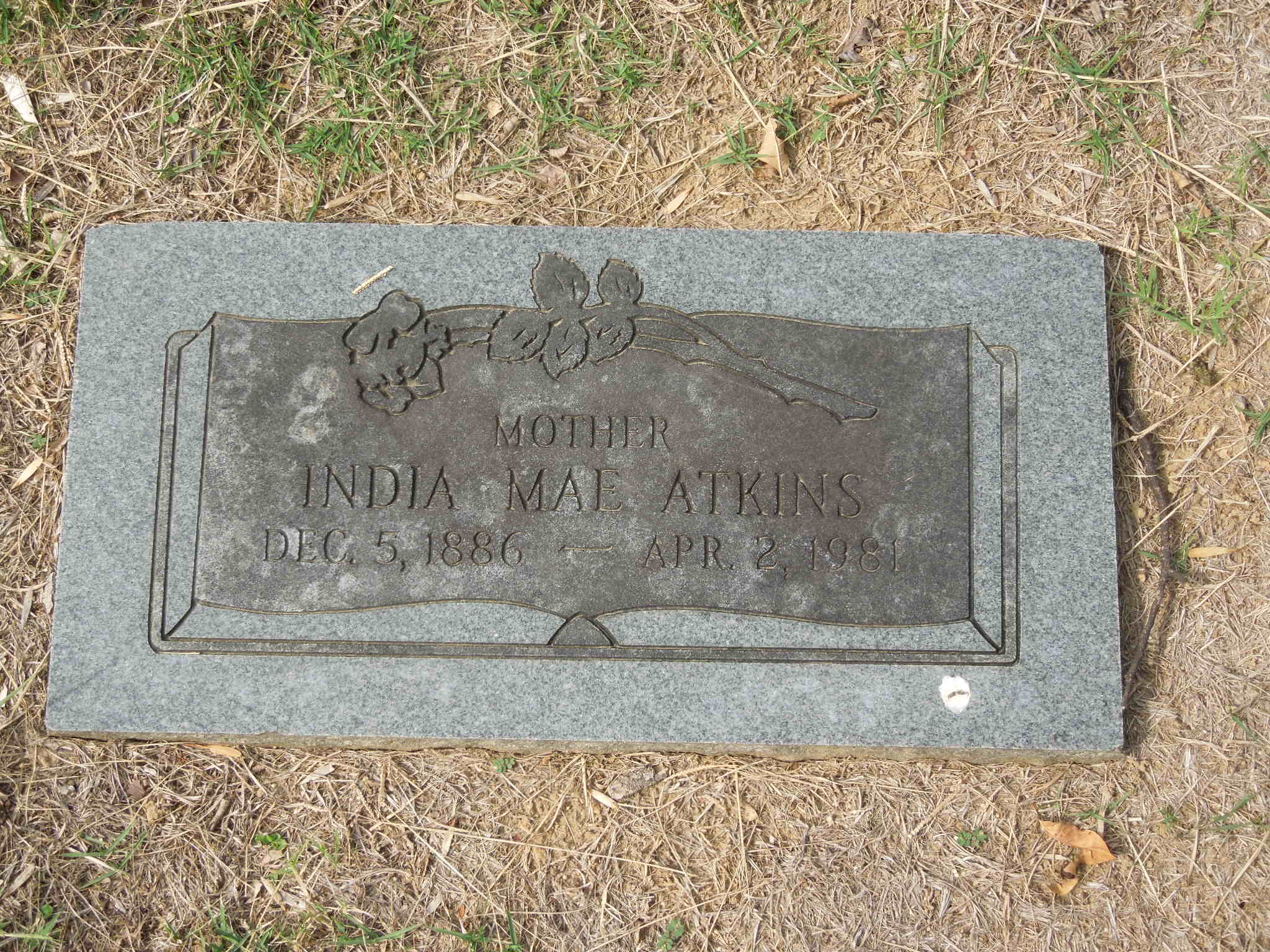 India Mae <i>Rollins</i> Atkins