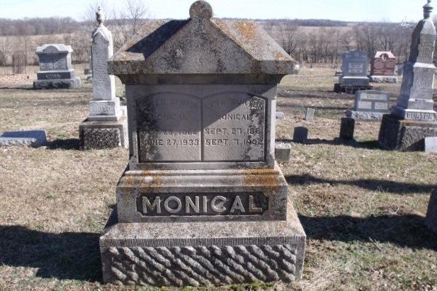 Clara Etta <i>Burton</i> Monical