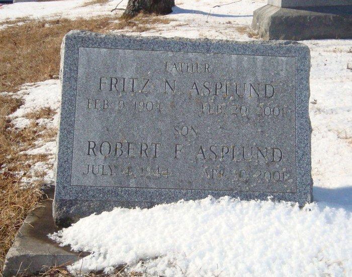 Fritz N. Father Asplund