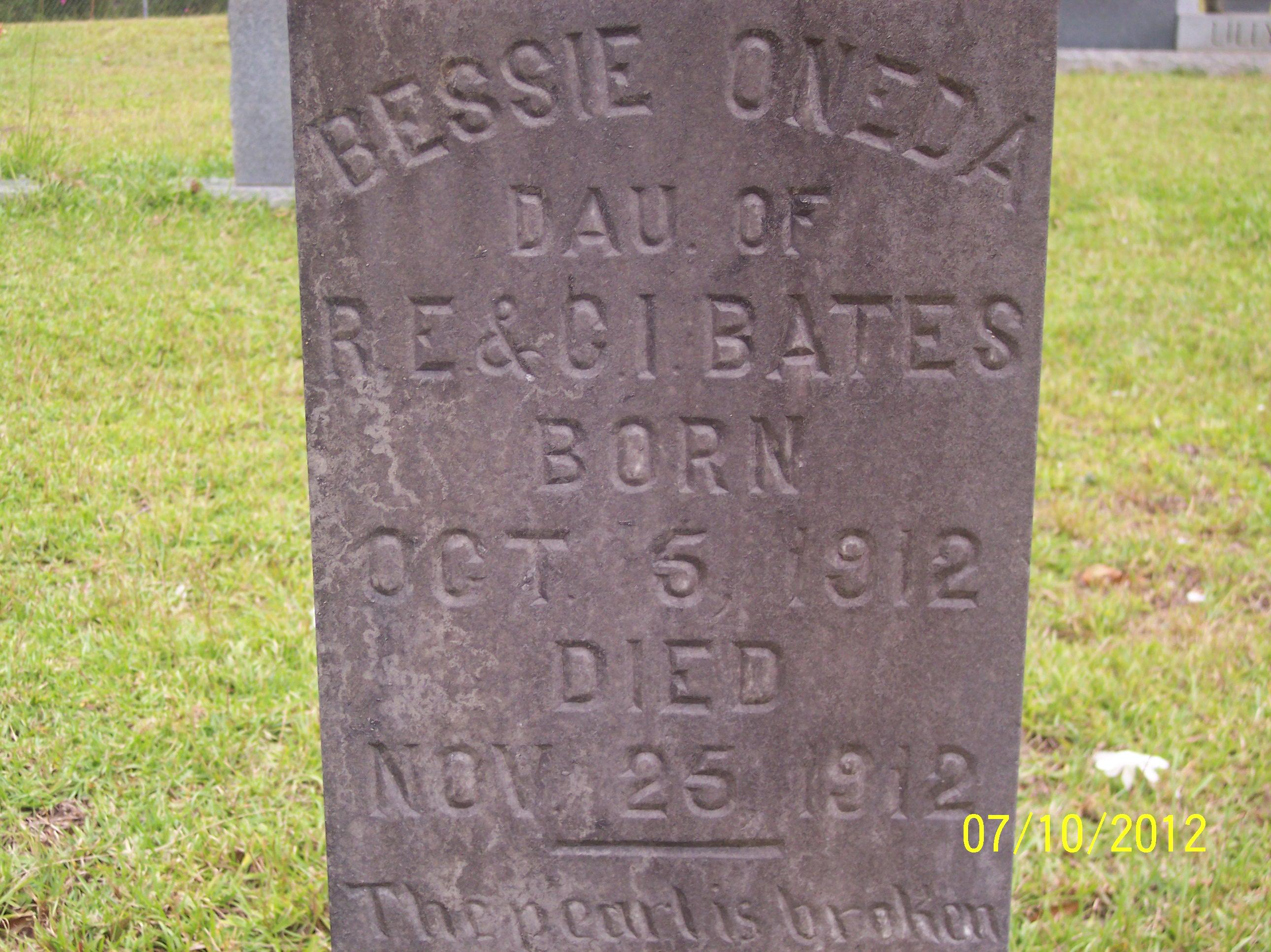 Bessie Oneda Bates