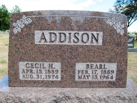 Cecil H <i>Coffin</i> Addison