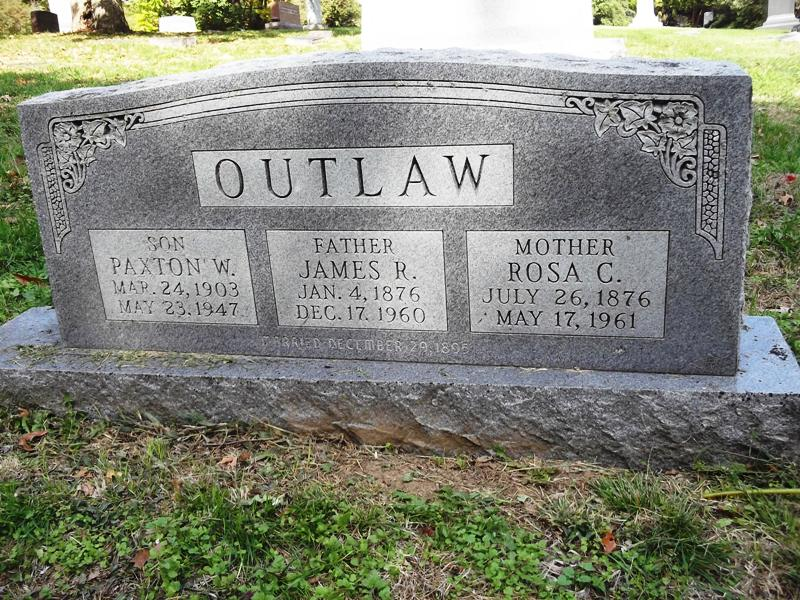 James Robert Outlaw