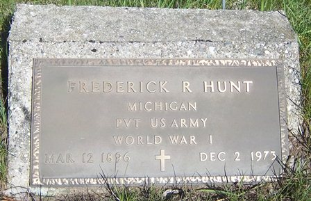 Frederick Ray Hunt