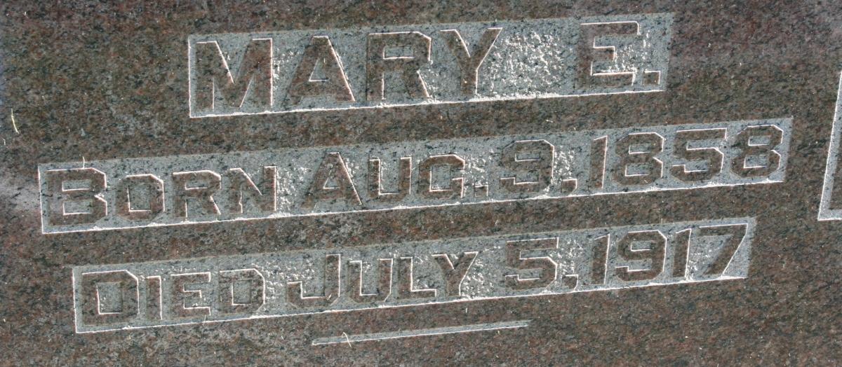 Mary E. <i>Bohrer</i> Otto