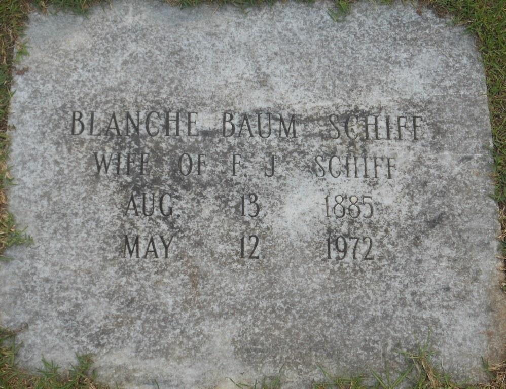 Blanche A. <i>Baum</i> Schiff