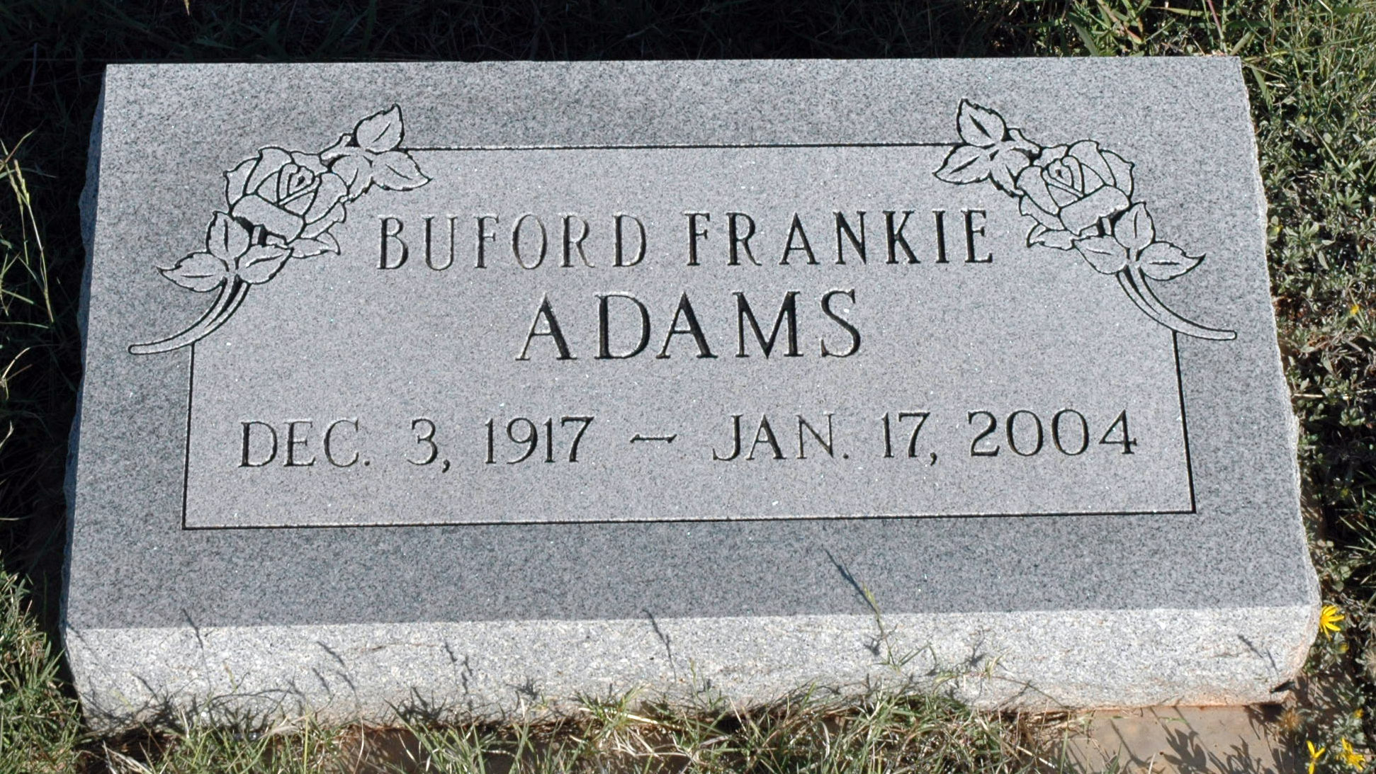Buford Frankie Adams