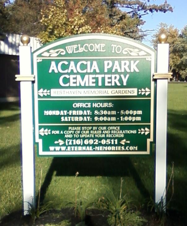 Acacia Park Cemetery in North Tonawanda, New York - Find A