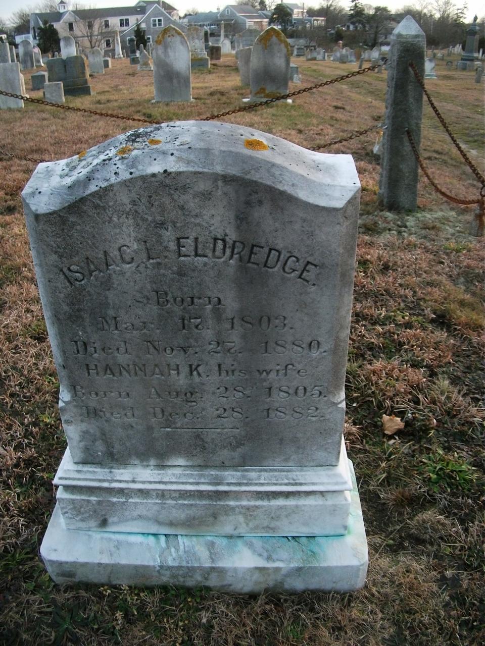 Isaac L Eldredge