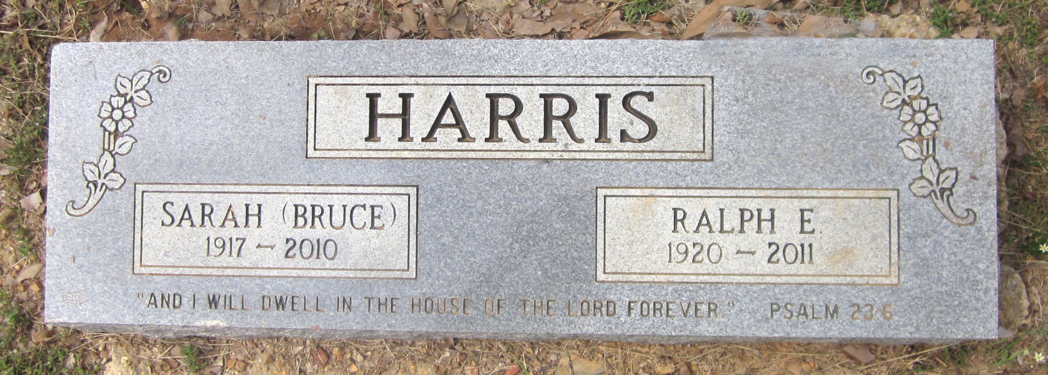 Sarah Jane <i>Bruce</i> Harris