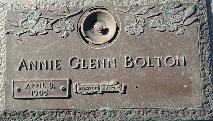 Annie Glenn <i>Wardlaw</i> Bolton