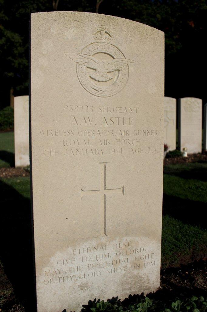 Sergeant ( W. Op. (Air) ) Arthur William Astle