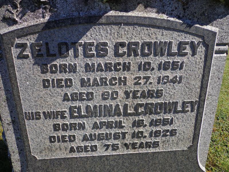 Elmina L <i>Smith</i> Crowley