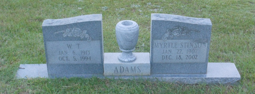 Myrtle <i>Stinson</i> Adams