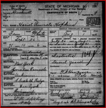 Harriet A. <i>Reynolds</i> Hopkins