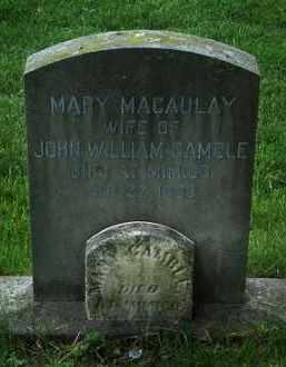 Mary <i>Macaulay</i> Gamble