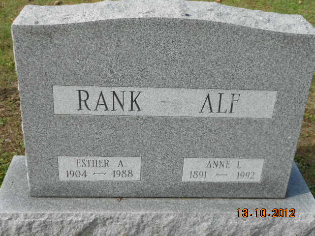 Anne L Alf