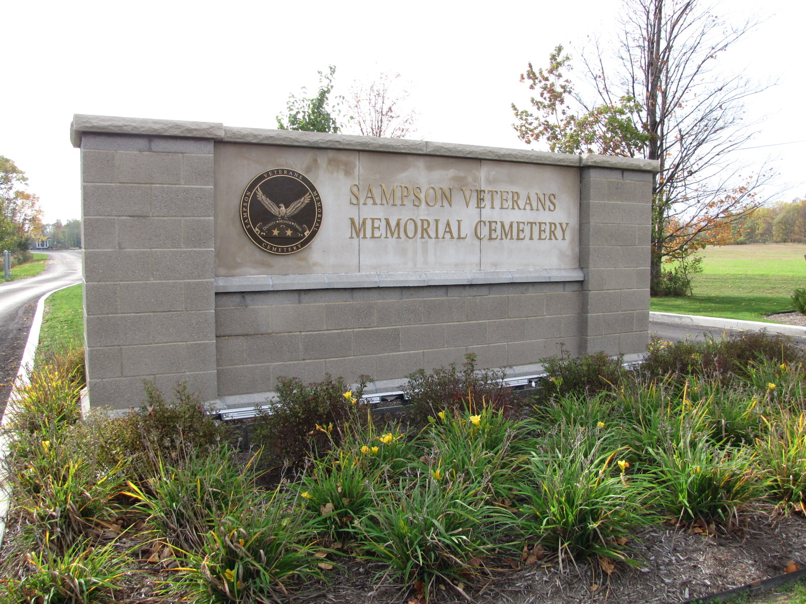 Sampson selected to be state's first veterans cemetery