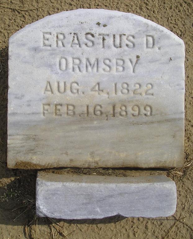 Erastus Day Ormsby