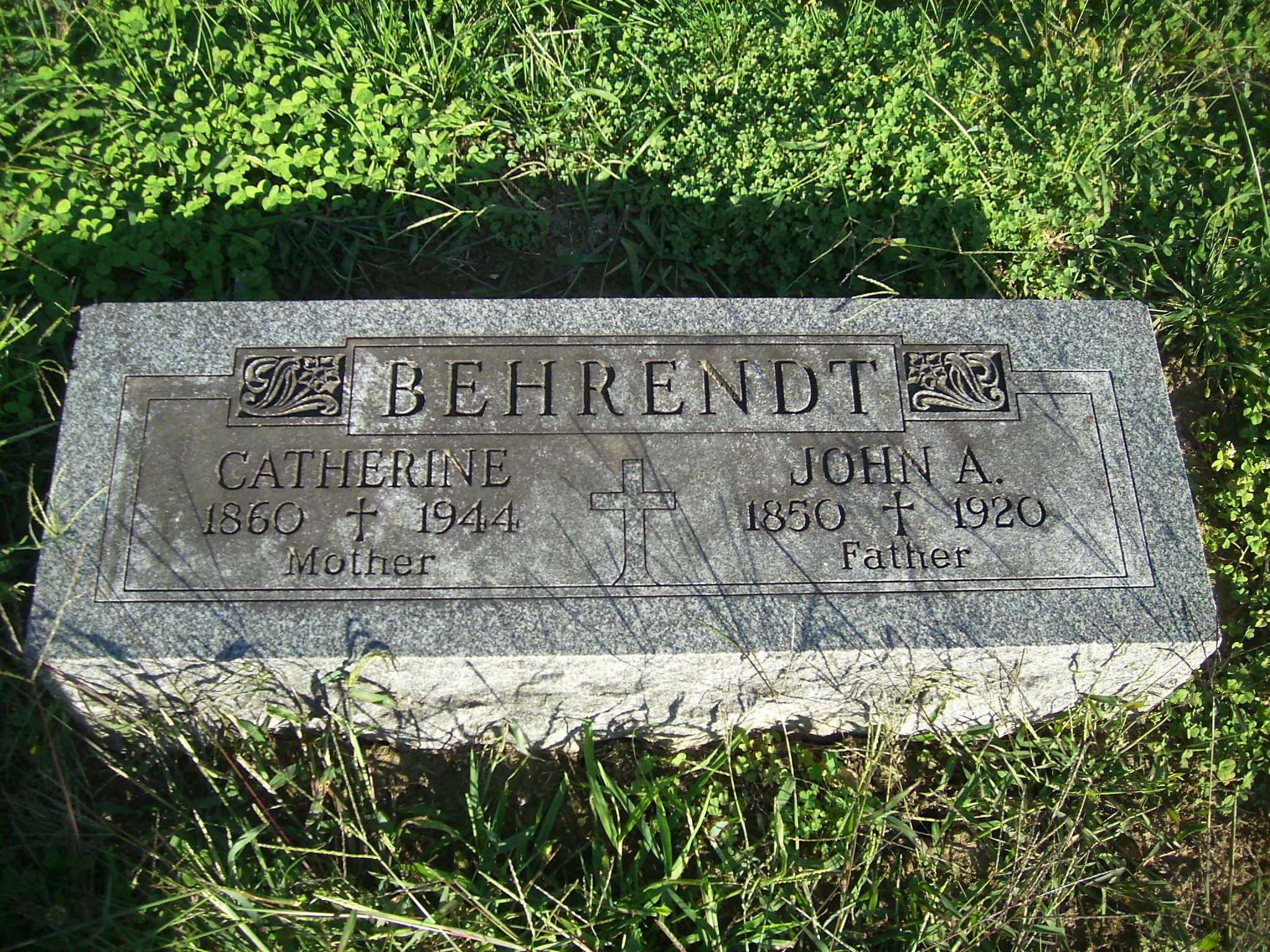 John A Behrendt