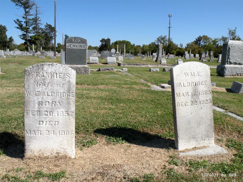 Frances S. Frankie <i>Jernigan</i> Aldridge