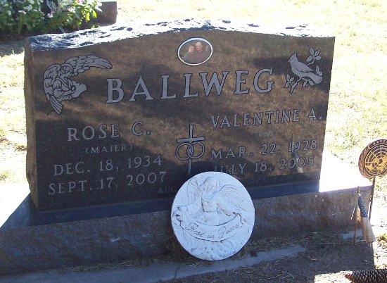 Rose Caroline <i>Maier</i> Ballweg