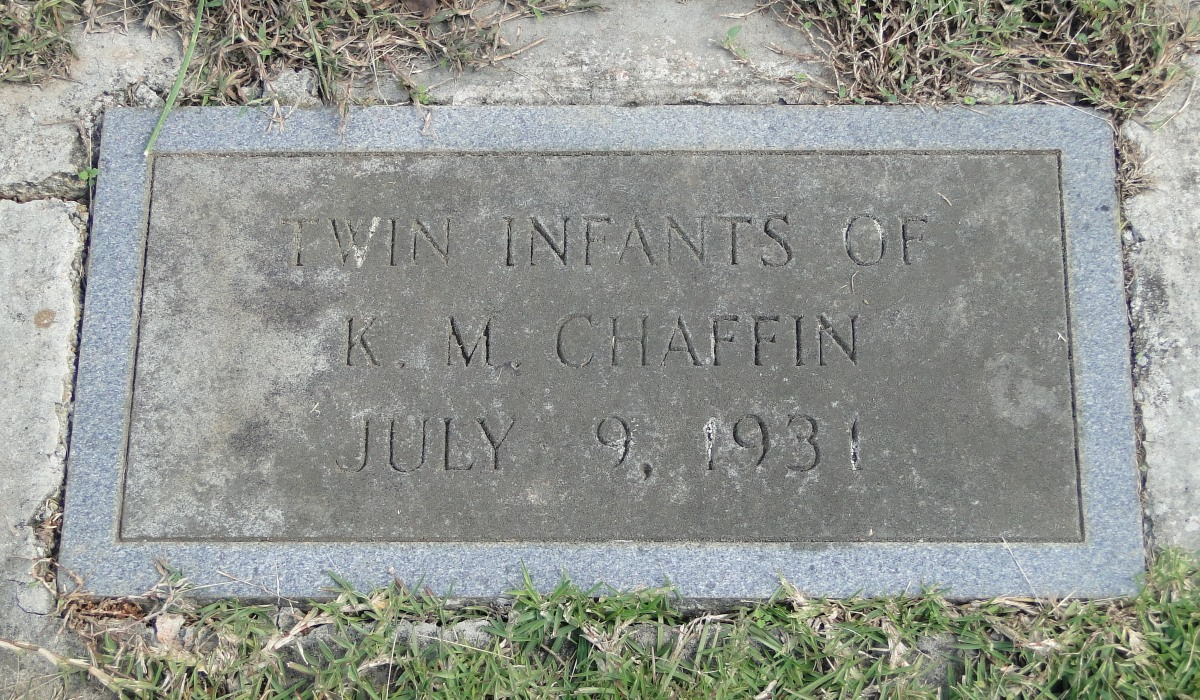 Infant Sons Chaffin