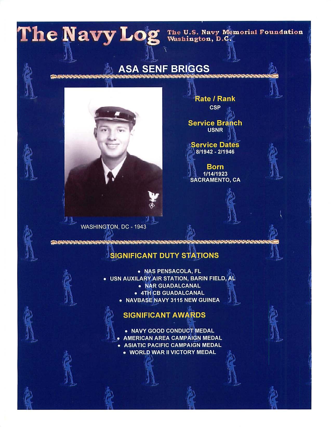 Asa Senf Ace Briggs
