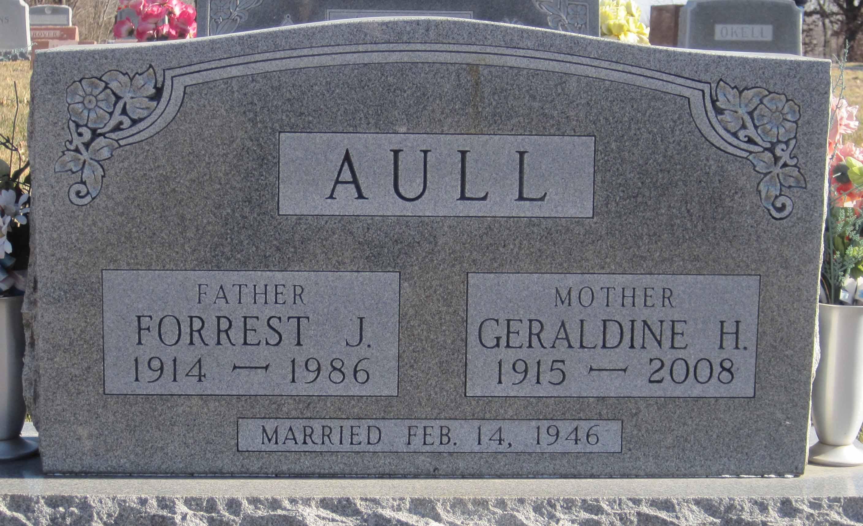 Geraldine Lucille <i>Haight</i> Aull