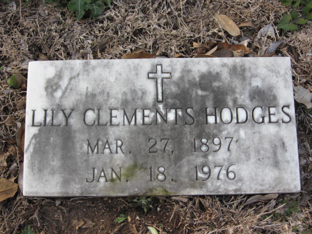 Lily <i>Clements</i> Hodges