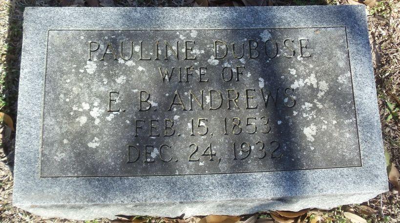 Pauline Dubose Andrews