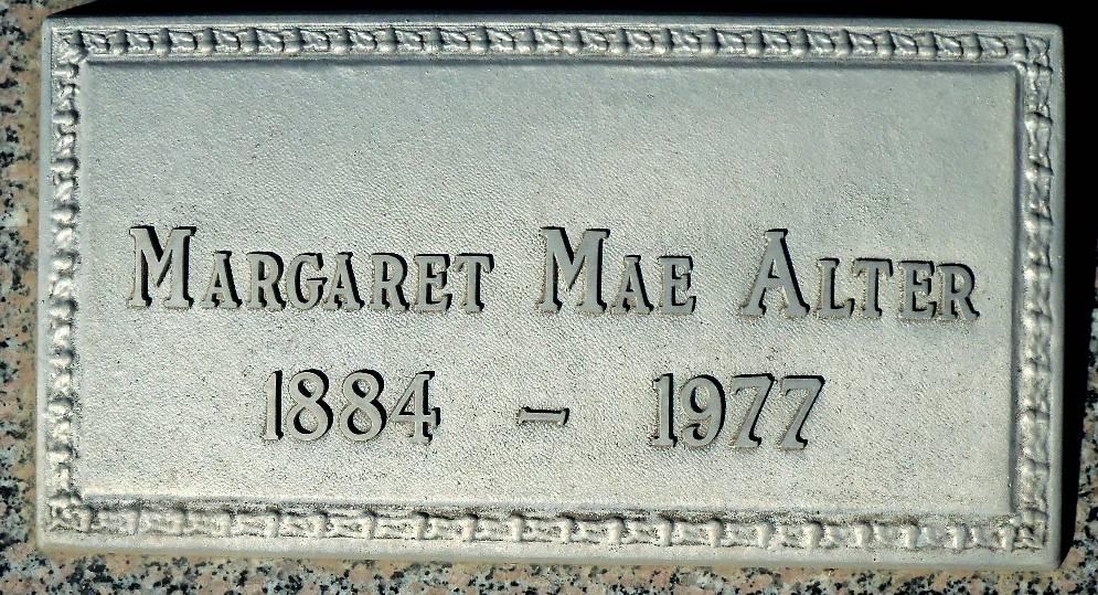 Margaret Mae Maggie <i>Druliner</i> Alter