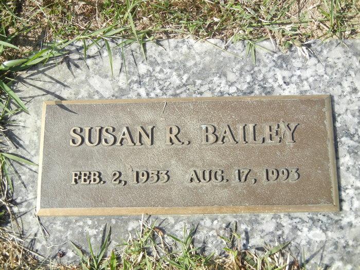 Susan R Bailey