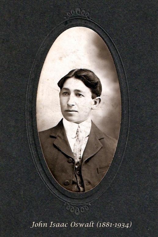 John Isaac Ike Oswald