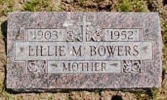 Lillie Mae <i>Miller</i> Bowers