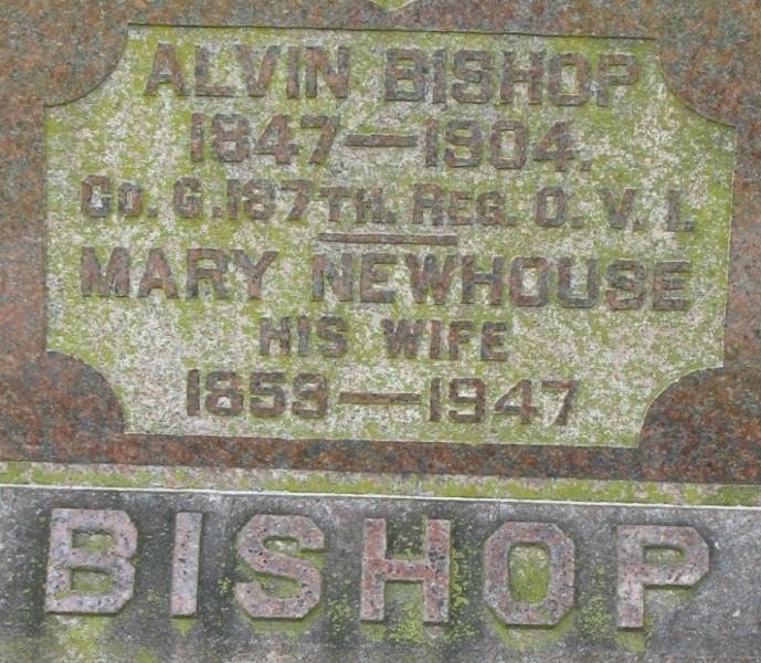 Mary <i>Newhouse</i> Bishop