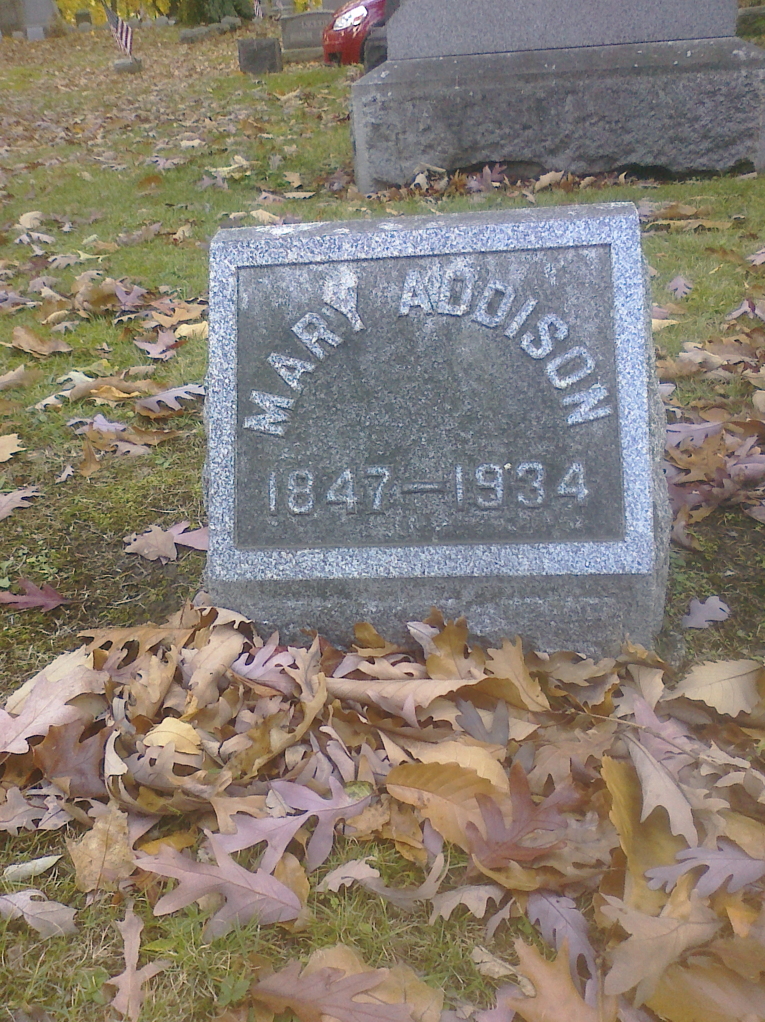 Mary A <i>Hitchcock</i> Addison