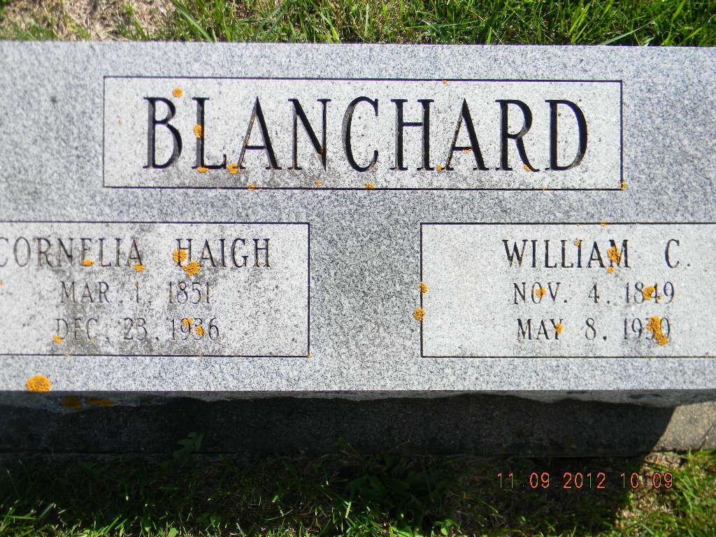 Cornelia <i>Haigh</i> Blanchard