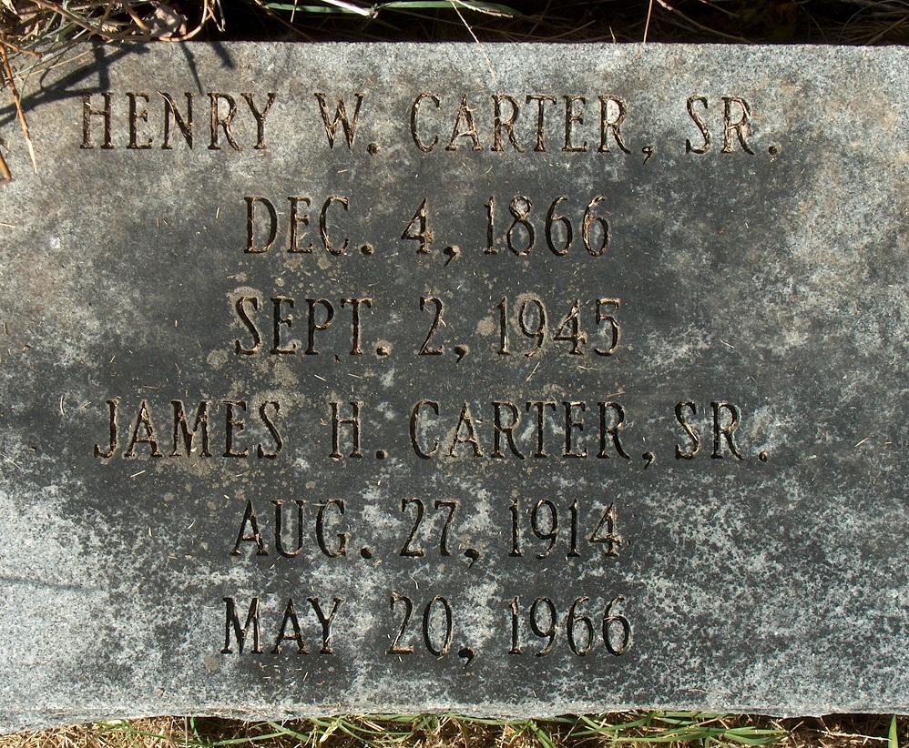Henry White Carter, Sr