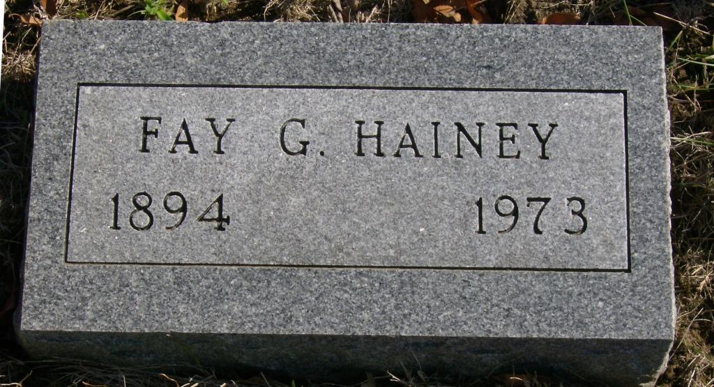 Fay Gideon Hainey