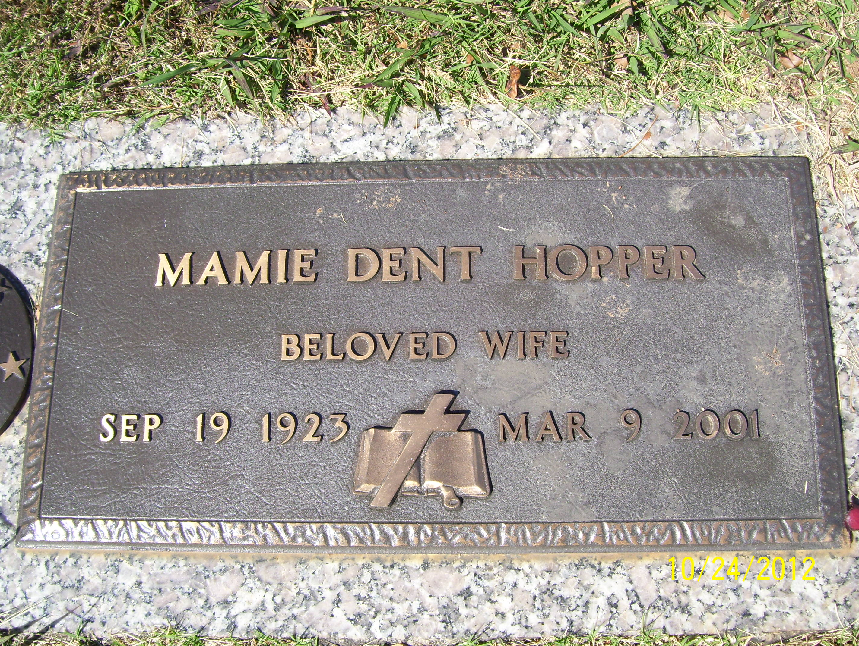 Mamie Dent Hopper