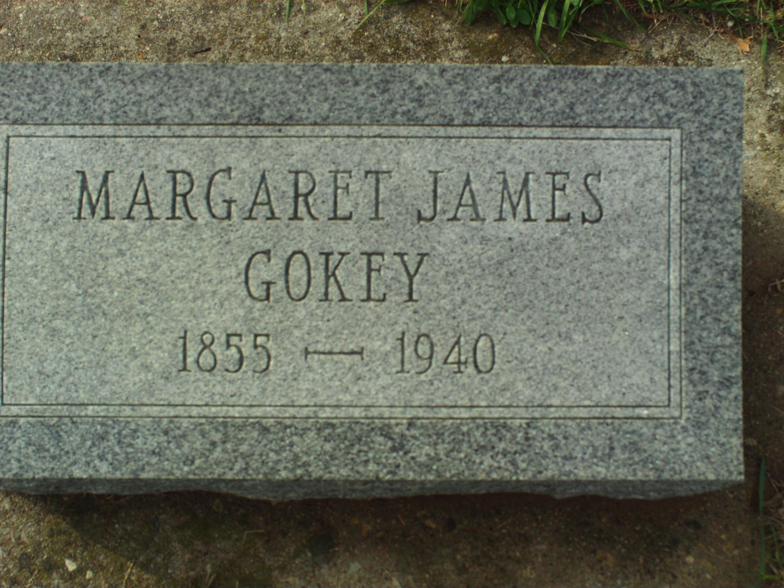 Margaret <i>James</i> Gokey