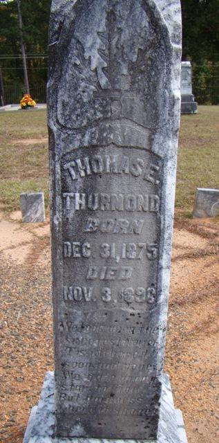 Thomas E Thurmond