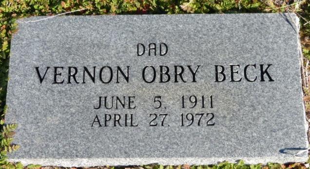 Vernon Obrey Beck
