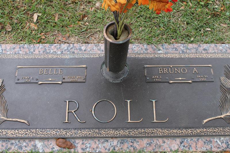 Clara Belle <i>Hopkins</i> Roll