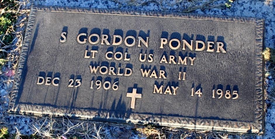 Speers Gordon Ponder