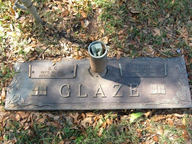 Annie Esther <i>Cecil</i> Glaze