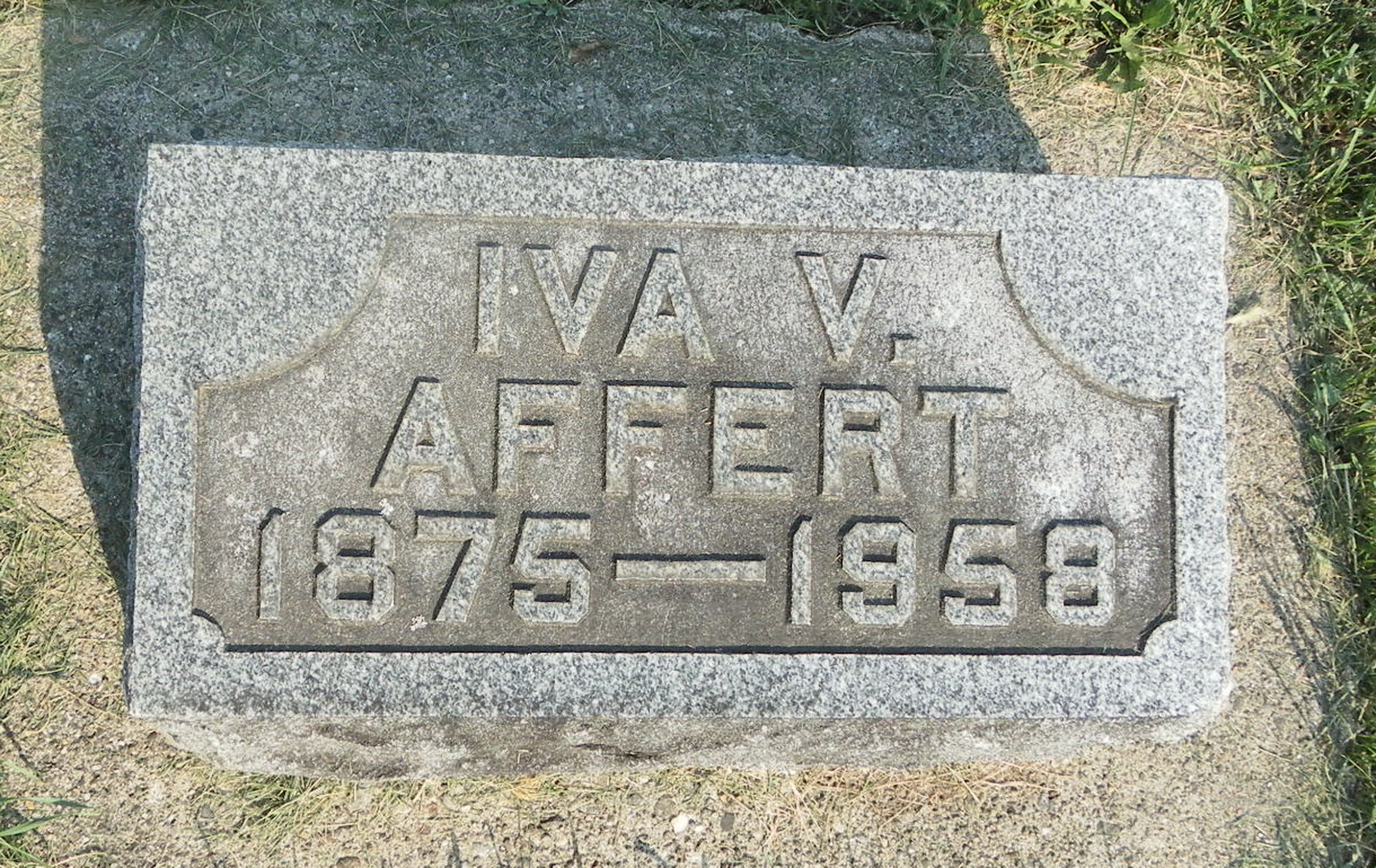Iva V <i>Thompson</i> Affert