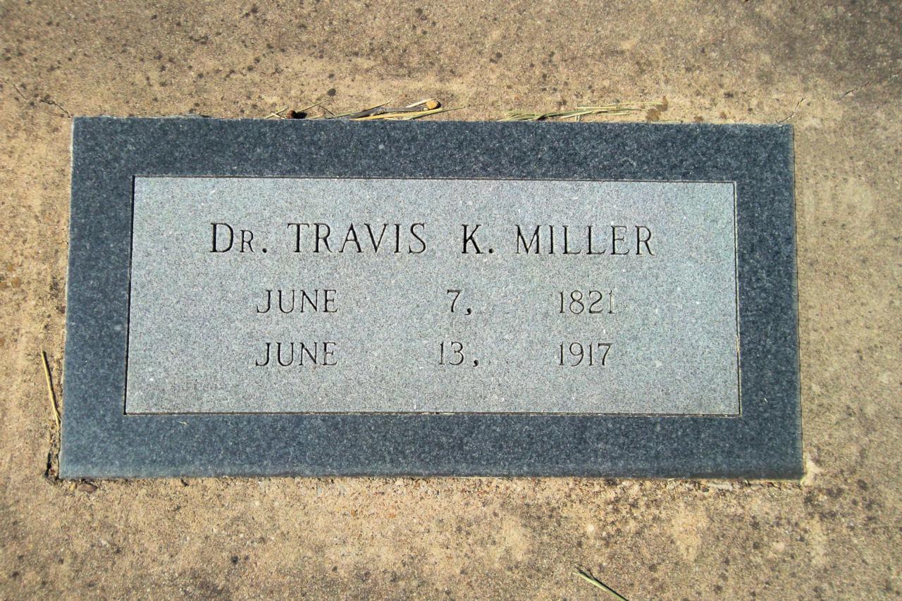 Dr Travis K Miller