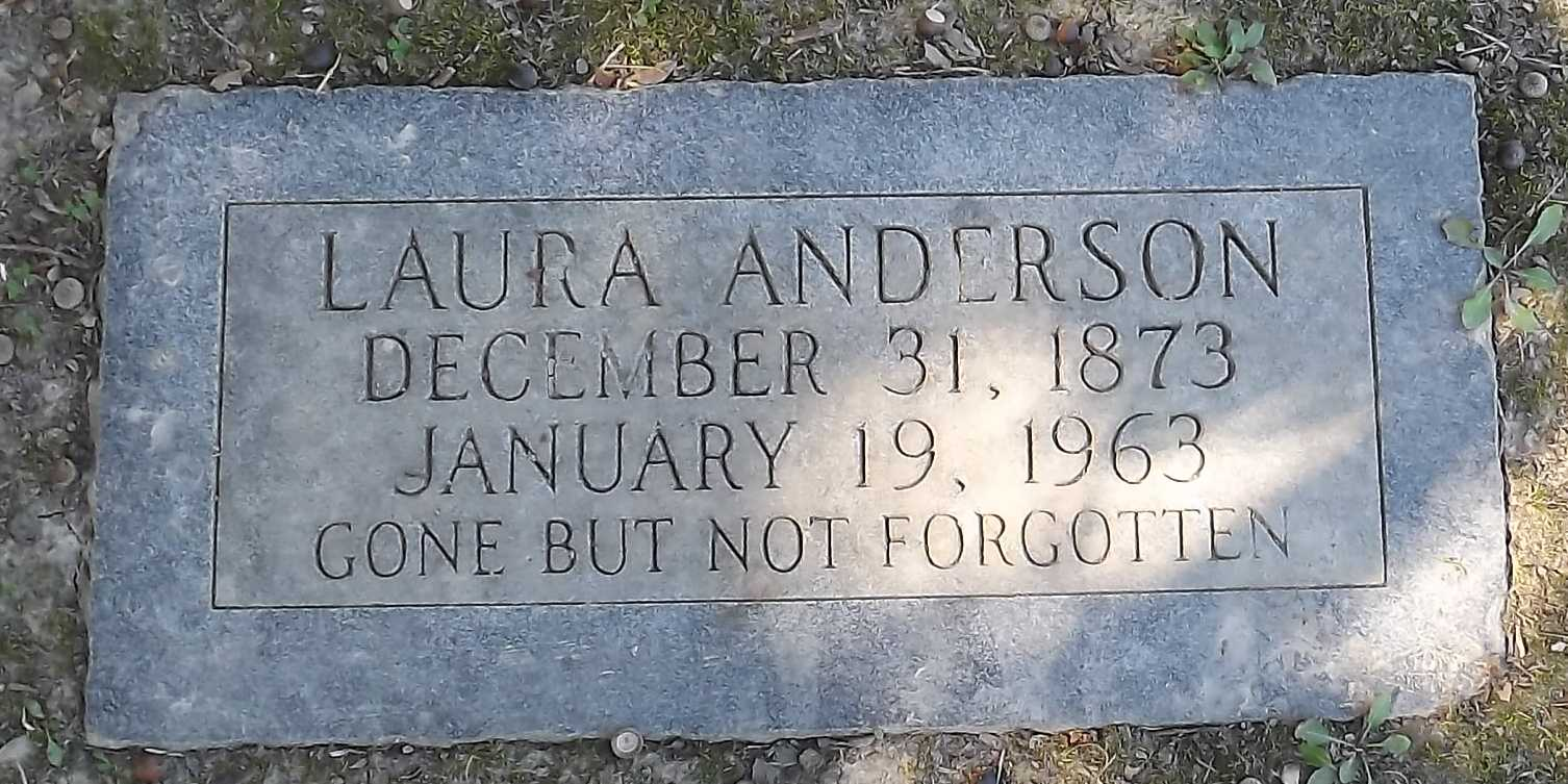Laura <i>Callender</i> Anderson